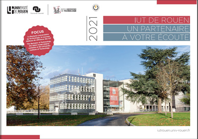 Brochure Institutionnelle de l'IUT de Rouen - Edition 2021